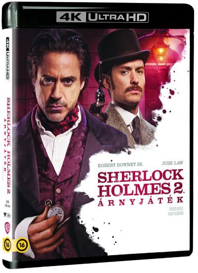 Guy Ritchie - Sherlock Holmes 2. - Árnyjáték - 4K UltraHD+Blu-ray
