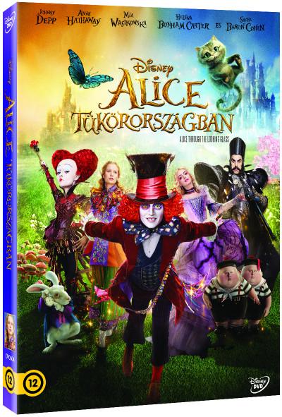 James Bobin - Alice Tükörországban (O-ringes, gyűjthető borítóval) - DVD