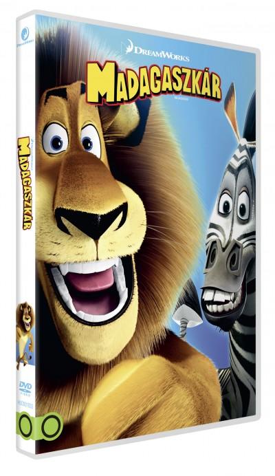 Eric Darnell - Tom Mcgrath - Madagaszkár (DreamWorks gyűjtemény) - DVD