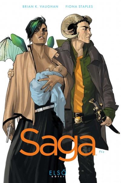 Brian K. Vaughan - Saga - Első kötet