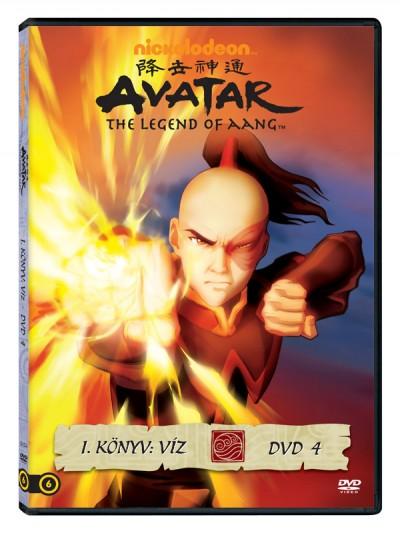 - Avatar: Aang legendája - I. könyv: Víz - DVD 4
