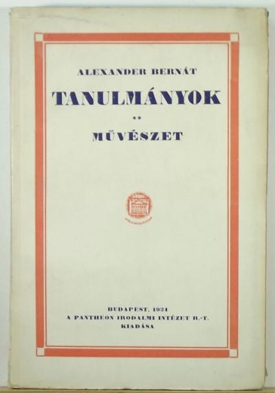Alexander Bernát - Tanulmányok - Művészet