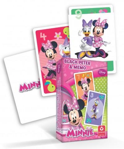 - Minnie egér - MINI Fekete Péter és memória kártya