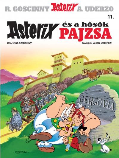 René Goscinny - Albert Uderzo - Asterix 11. - Asterix és a hősök pajzsa