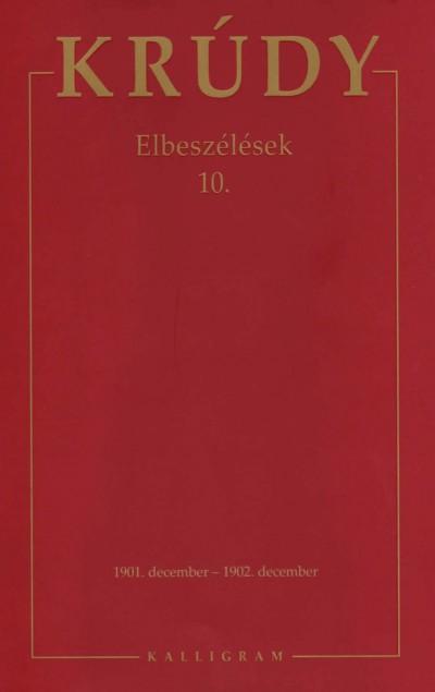 Krúdy Gyula - Elbeszélések 10.
