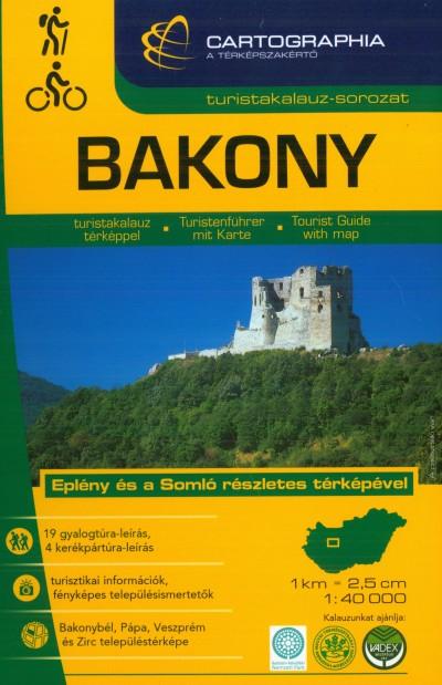 Szalamonidesz Sándor  (Szerk.) - Szigeti Borbála  (Szerk.) - Bakony turistakalauz 1:40 000