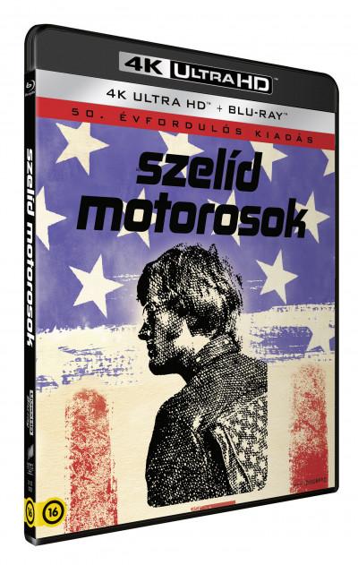 Dennis Hopper - Szelíd motorosok - 4K UltraHD+Blu-ray