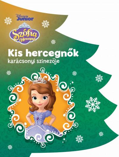 - Disney - Kis hercegnők karácsonyi színezője