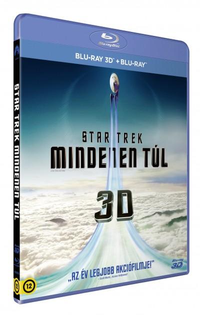 Justin Lin - Star Trek: Mindenen túl - 3D Blu-ray + Blu-ray