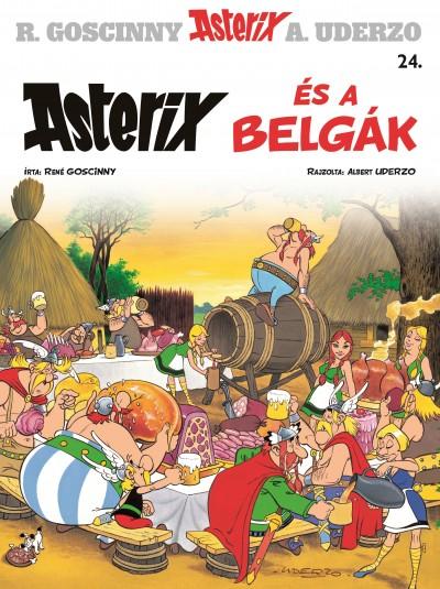 René Goscinny - Albert Uderzo - Asterix 24. - Asterix és a belgák