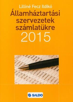 Lillin� Fecz Ildik� - �llamh�ztart�si szervezetek sz�mlat�kre 2015