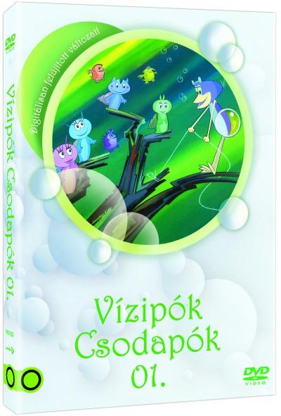 Haui József - Szabó Szabolcs - Szombati Csaba - Vízipók Csodapók 01. - DVD