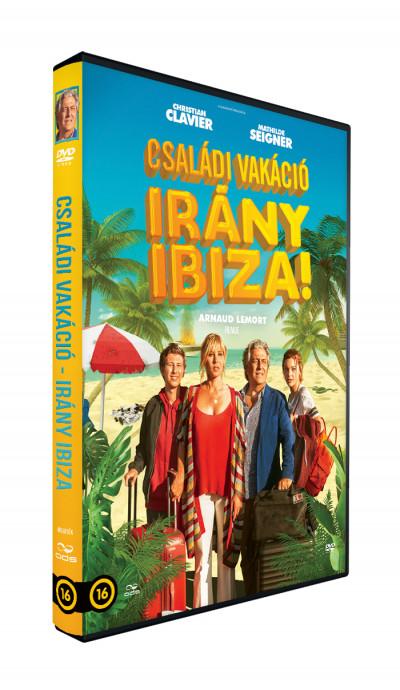 Arnaud Lemort - Családi vakáció - Irány Ibiza! - DVD