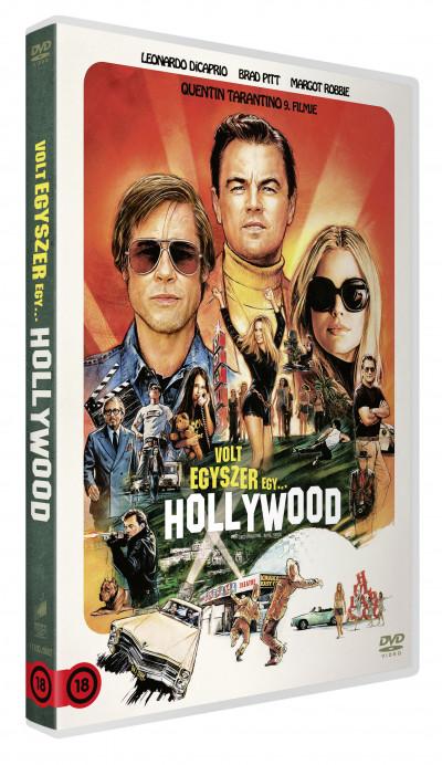 Quentin Tarantino - Volt egyszer egy... Hollywood - DVD