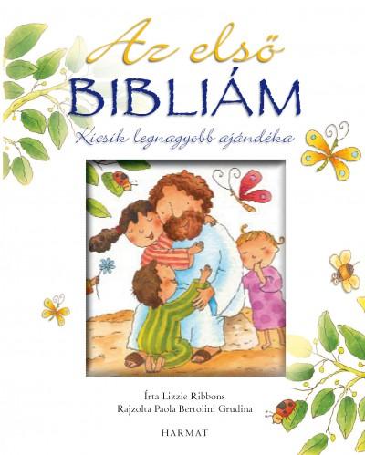 Lizzie Ribbons - Az első Bibliám - fehér