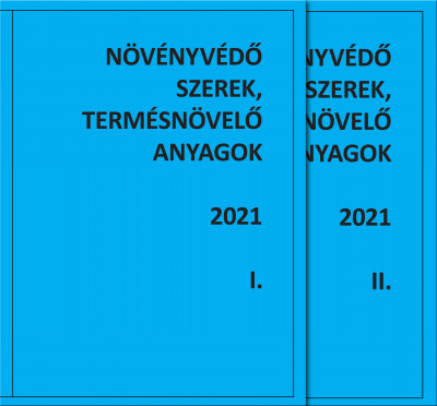Dr. Erdős Gyula - Dr. Haller Gábor - Molnár Jenő - Dr. Ocskó Zoltán - Növényvédő szerek, termésnövelő anyagok I-II 2021