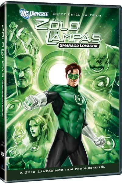 - Zöld Lámpás: Smaragd Lovagok - DVD