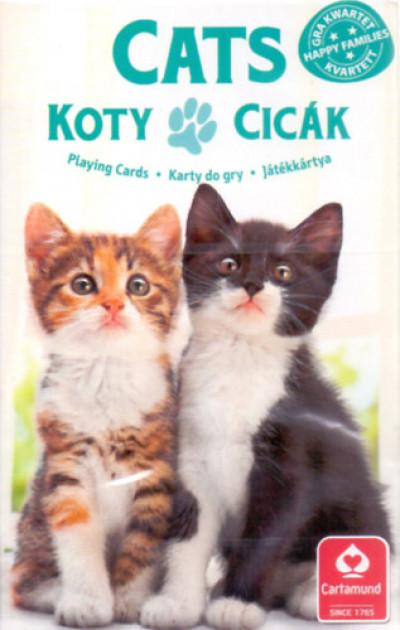 - 4 az 1-ben / Kedvenceink a cicák kártya