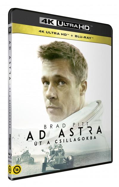 James Gray - Ad Astra - Út a csillagokba - 4K Ultra HD + Blu-ray