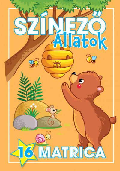 Navratyil Edina  (Összeáll.) - Színező - Állatok