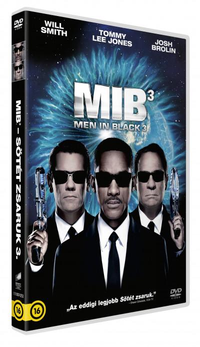 Barry Sonnenfeld - Men in Black - Sötét zsaruk 3. - DVD