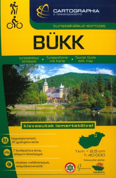 Kovács Attila Gyula  (Szerk.) - Szigeti Borbála  (Szerk.) - Bükk turistakalauz