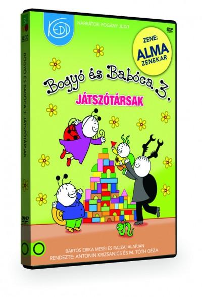 Bartos Erika - Antonin Krizsanics - M. Tóth Géza - Pogány Judit - Bogyó és Babóca 3. - Játszótársak - DVD