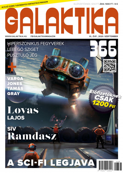 Németh Attila  (Szerk.) - Galaktika Magazin 366. szám - 2020. szeptember
