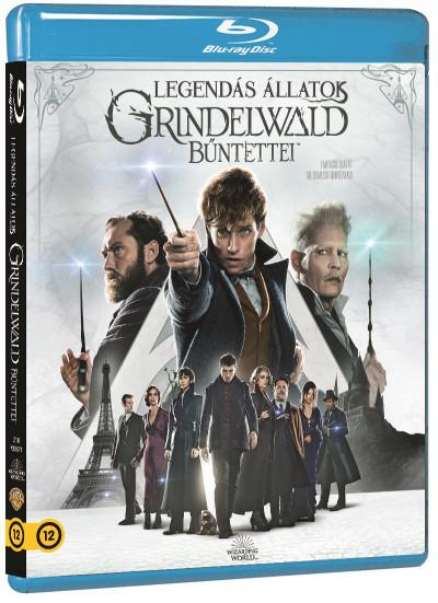 David Yates - Legendás állatok - Grindelwald bűntettei - Blu-ray