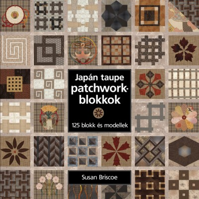 Susan Briscoe - Japán taupe patchworkblokkok