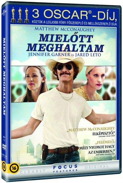 Jean-Marc Vallée - Matthew Mcconaughey - Mielőtt meghaltam - DVD