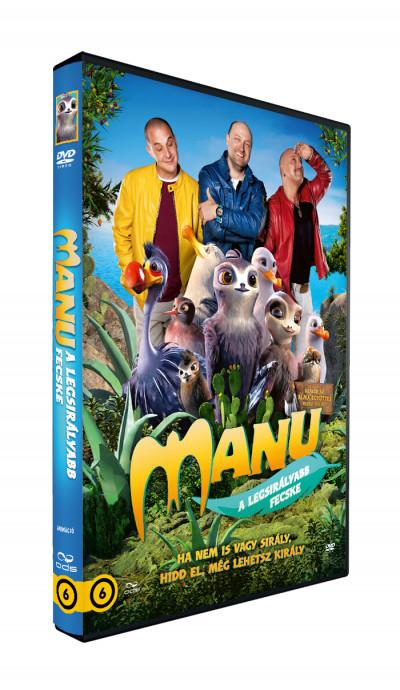 Andrea Block - Christian Haas - Manu, a legsirályabb fecske - DVD