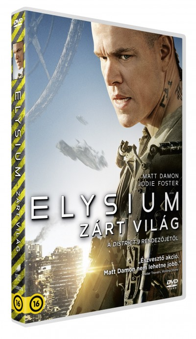 Neill Blomkamp - Elysium - Zárt világ - DVD