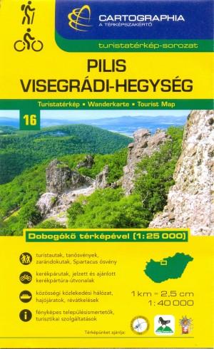 - PILIS, VISEGR�DI-HEGYS�G TURISTAT�RK�P 1:40 000