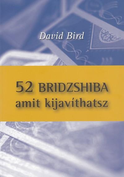 David Bird - 52 bridzshiba amit kijavíthatsz