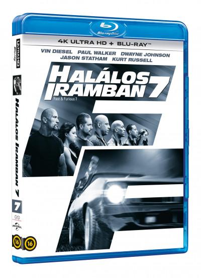 James Wan - Halálos iramban 7. - 4K UltraHD+Blu-ray