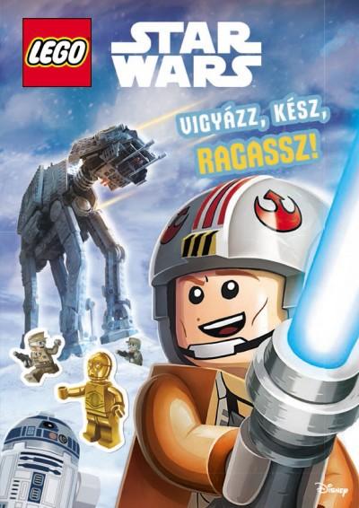 - LEGO Star Wars - Vigyázz! Kész! Ragassz!
