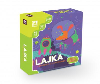 Lencse Máté  (Összeáll.) - Lajka - Űrutazás 3-5-8 éveseknek