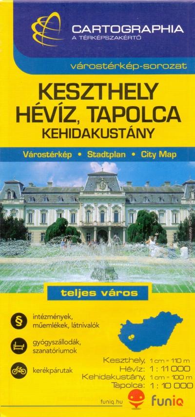 - Keszthely - Hévíz várostérkép