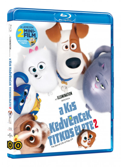 Jonathan Del Val - Chris Renaud - A kis kedvencek titkos élete 2 - Blu-ray