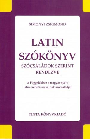 Simonyi Zsigmond - Latin sz�k�nyv