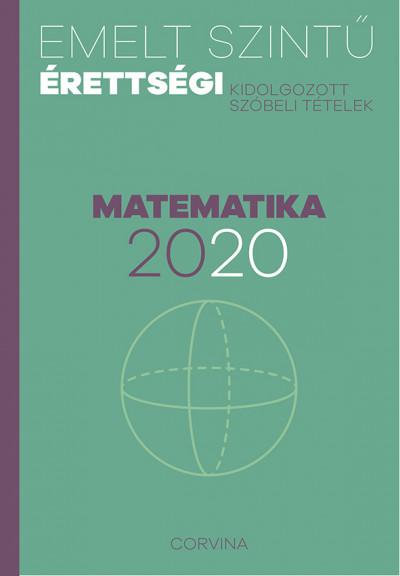 - Emelt szintű érettségi - matematika - 2020