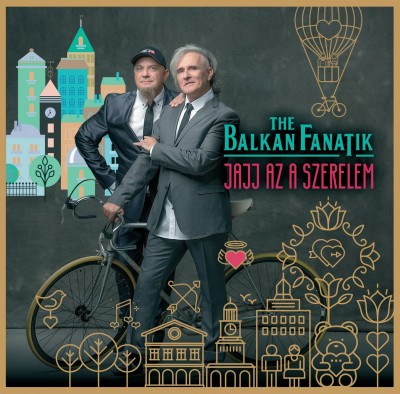 Balkan Fanatik - Jajj az a szerelem - CD