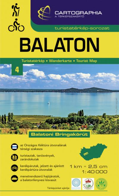 - Balaton turistatérkép