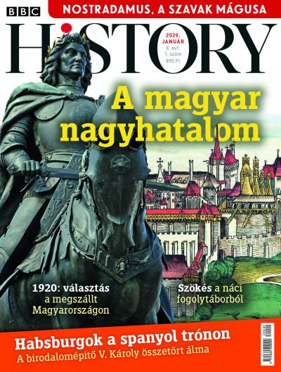 Papp Gábor  (Szerk.) - BBC History - 2020. X. évfolyam 01. szám - Január
