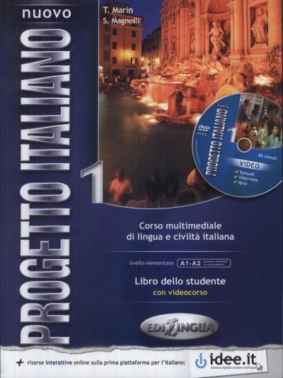 Sandro Magnelli - Telis Marin - Progetto Italiano 1 libro dello studente+ DVD