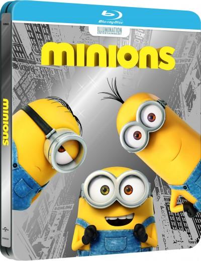 Kyle Balda - Pierre Coffin - Minyonok - fémdobozos Blu-ray 3D + Blu-ray