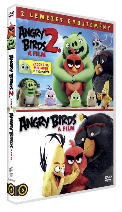 Clay Kaytis - Fergal Reilly - John Rice - Thurop Van Orman - Angry Birds 1-2. - A filmek - 2 DVD