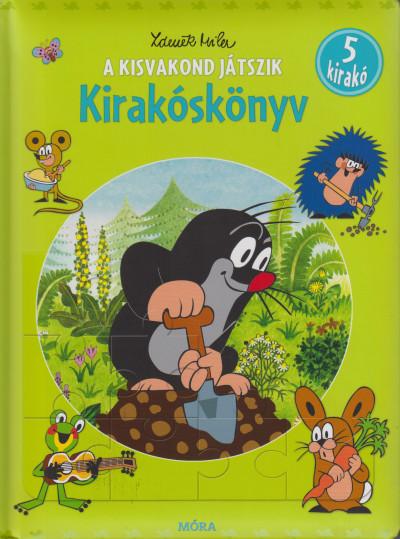 Zdenek Miler - A kisvakond játszik - Kirakóskönyv