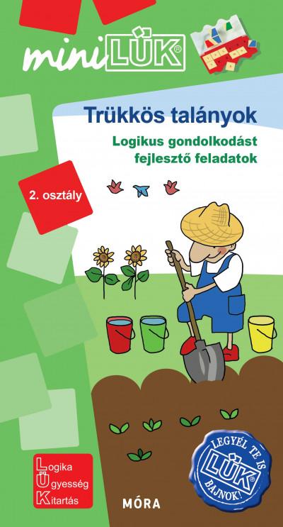 Borbély Borbála  (Szerk.) - Vukman Andrea  (Összeáll.) - Trükkös talányok - LDI570